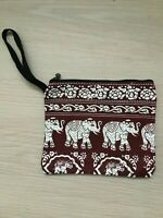 Geldbeutel Stoffgeldbeutel Elefanten Elefantentasche Elefantengeldbeutel #190