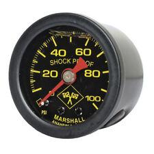 Marshall Öldruckmesser Öldruckanzeiger MidnightBlack 100PSI f. Harley - Davidson