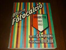 ALBUM CALCIATORI FOTOCALCIO FOTOCOLOR 1962-63 Ed. FILATELICHE - OTTIMO + !!