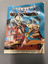 1982-85 Comics Master Of Universe-He-Man Meets Ram-Man,man Face,Modulok (3)