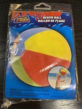 "Traditional Beach Ball 20"" Diameter - Splash N' Slim"