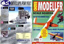 RADIO MODELLER MAGAZINE 1996 FEB BOOTIFUL AEROBATIC TRAINER FREE PLANS