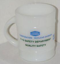 Union Carbide Y-12 Coffee Cup Oak Ridge Tennessee Atomic Nuclear Waste Barrel