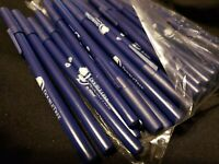 New LOT/50 DoubleTree Hilton Ballpoint Navy Pens with Black Ink