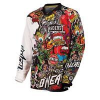 O'Neal Mayhem Jersey CRANK Moto Cross Trikot Shirt MTB Mountainbike Enduro Quad