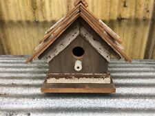 Bird House Hand Crafted with Reclaimed antique Cypress