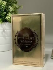 Diesel Fuel for Life Unlimited · Eau de Parfum for woman new in box SEALED 50ml