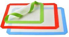 3 Non-Stick Silicone Baking Mats - 1x 1/4 Sheet, 2x 1/2 Sheet Tray Pan Liners