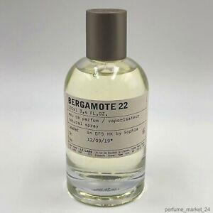 Le Labo Bergamote 22 Eau De Parfum 100 ml  3.4 fl.oz New Sealed Box