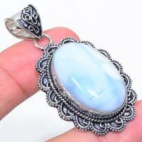 """Owhyee Opal Gemstone Handmade Ethnic Jewelry Pendant 2.17"""" VJ-10883"""