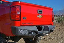 Offroad Rear Bumper Steel 2014-2018 Chevy Silverado 1500 Chevrolet Light holes