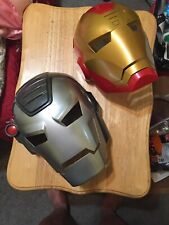 Disney Store Marvel Avengers Iron Man 2-in-1 Mask - Iron Man To War Machine