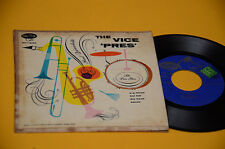 "PAUL QUINICHETTE 7"" EP ORIG USA '60 TOP JAZZ THE VICE PRES"