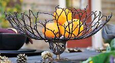 Twig Basket/Bowl on Pedestal by Michael Michaud for Silver Seasons