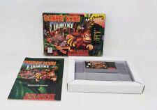 Donkey Kong Country - Super Nintendo - w/ Box & Instruction Manual - Nice Shape!
