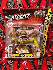 WWE FLEXFORCE CHAMPIONS ALBERTO DEL RIO REY MYSTERIO Battle PACK TARGET WWF