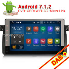 "9"" Android 7.1 Car Head Unit BMW 3er E46 Rover 75 DAB+ GPS SatNav OBD2 BT Canbus"