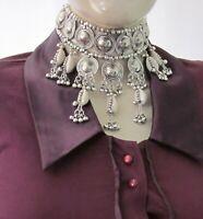 Choker Necklace Collar Vintage Boho Gypsy Hippy Tribal Fashion Jewelry