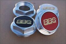 4x BBS RS RC Sechskant Muttern Felgen Deckel Kappen Nut 15 16 17 18 Zoll BMW VW