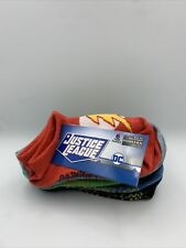 6 pairs Justice League Shoe Size Small Children's 4.5 -8.5 - New with Tags