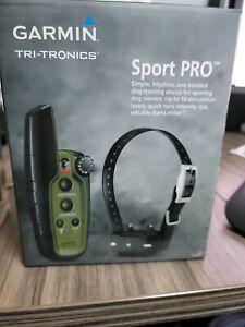 GARMIN Sport PRO Bundle Dog Training System w Bark Limiter & PT10 Pro Dog Device