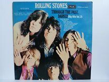 The Rolling Stones - Vinyl LP - Through The Past, Darkly / PAX Israel 1969