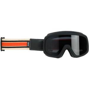 Biltwell Overland 2.0 Racer Motorcycle Goggle - Black C/O