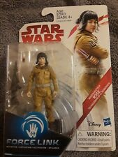 "STAR WARS THE LAST JEDI ROSE (RESISTANCE TECH) FORCE LINK FIGURE 3.75"" NIB"
