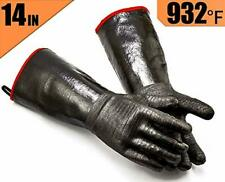 New listing Rapicca Bbq Gloves -Smoker, Grill, Cooking Barbecue Gloves, for Handling Heat Fo