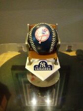 Rawlings New York Yankees Collectible Baseball with Stadium Seat Stand Rare Htf.