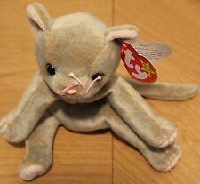 Retired SCAT the Kitten New TY Beanie Baby Tag Date Differences