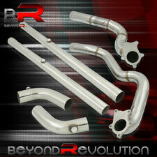 For 1994 1997 Ford Mustang 38l V6 Performance Racing Steel Twin Turbo Downpipe