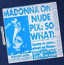 ANDY WARHOL ART COVER MADONNA ON NUDE PIX: CICCONE RECORD 1986 ORIGINAL NM RARE