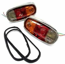 MAZDA 1000 UTE PICK UP REAR TAIL BRAKE LIGHT LIGHTS LAMPS LH & RH COMPLETE 001