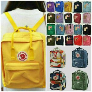 Unisex Kanken Art Laptop Backpack Travel Shoulder School Bags 2021New
