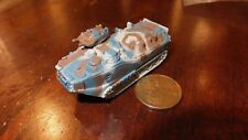 MILITARY MICRO MACHINE BLUE BROWN CAMO ARMOR AAV-P7A1 AAVP -7A1  LVTP-7