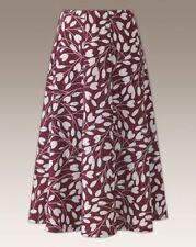 Viscose Floral Regular Size Flippy, Full Skirts for Women