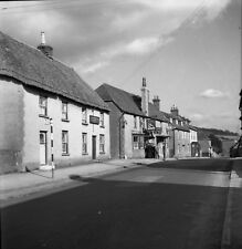 B/W 6x6 Negative Bere Regis Dorset Village Scene 1950 + Copyright Z113