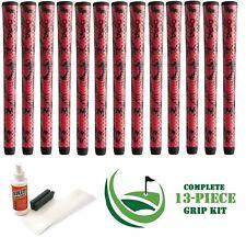 13 Winn Golf Dri-Tac DriTac X Performance Soft Red Grips 6DTX-RDB Midsize +KIT