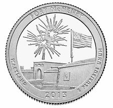 2013 S SILVER PROOF AMERICA THE BEAUTIFUL FORT MCHENRY 90% SILVER QUARTER