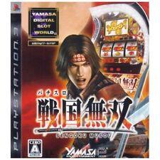 Used PS3 Yamasa Digi World SP Pachislot Sengoku Musou Japan Import