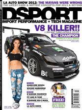 DSPORT #124(February2013) Daigo's 1359 whp Soarer w Natalie Bee