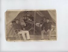Original Spanish American War Under Tent c1898