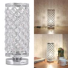 Crystal Table Lamp Bedside Nightstand Desk Reading Lamp Bedroom Living Room
