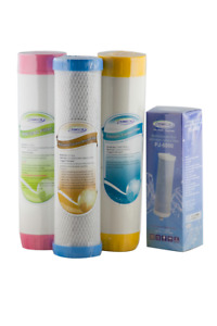 Chanson Water Filters Ionizer + C3 Triple Filter Replacements Cartridges