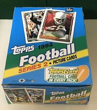 1992 Topps Football Series 2 Box (36 Packs) Gold Rookie And Stars