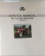Genuine Massey Ferguson 135/148 Workshop Manual