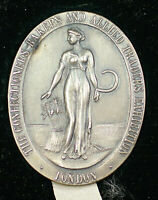 1923 London The Confectioners Bakers and Allied Trades Exposition Silver Medal