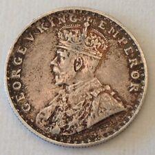 1920 British India George V One 1 Silver Rupee