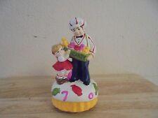 Vintage Sankyo Musical Candy Man Ceramic Figurine